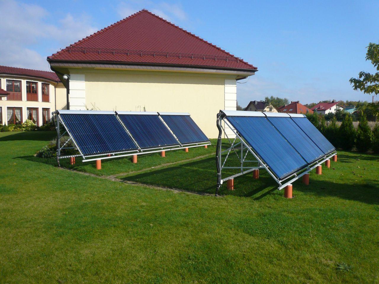 Kolektory słoneczne Kraków