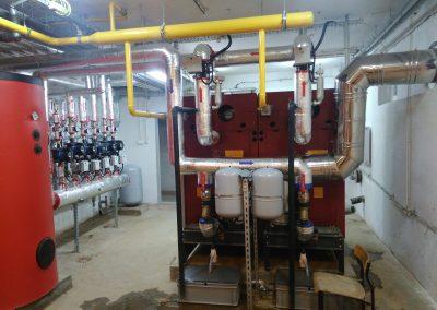 Instalacja kotłowni w Wolbromiu